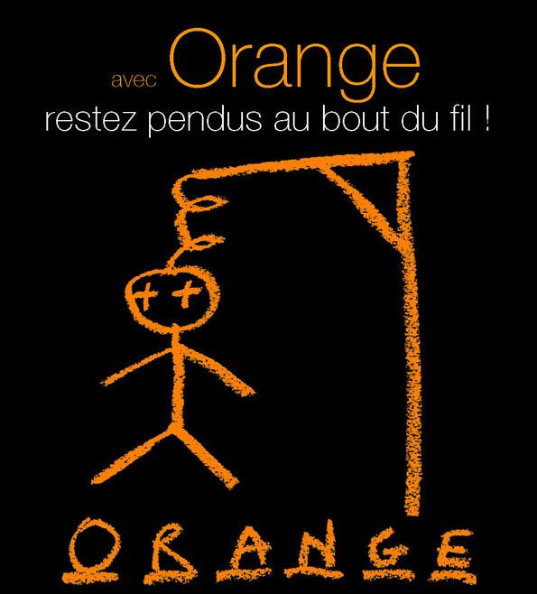 Avec Orange restez pendus au bout du fil