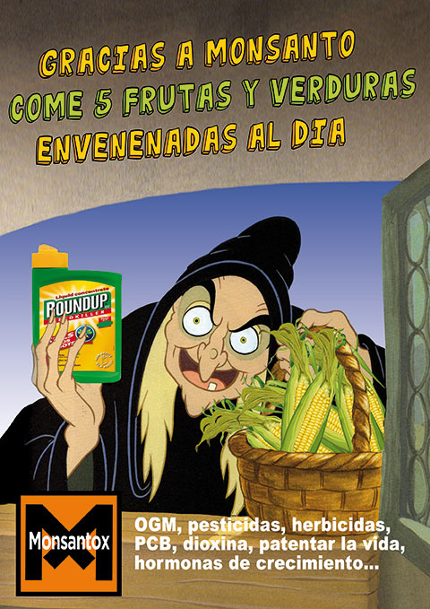 Monsanto la sorcière